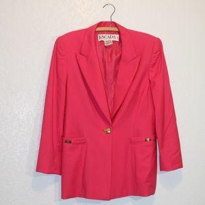 ESCADA pink blazer